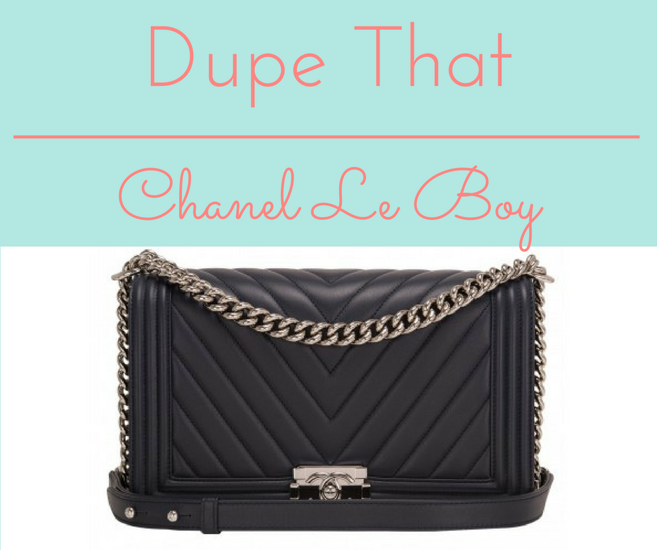 Connu Dupe that: Chanel Le Boy Bag? – My Life In Med School YF91
